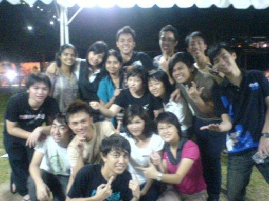 With KAKAK CINTA~~~~~~ hahahaha. MARI3!!